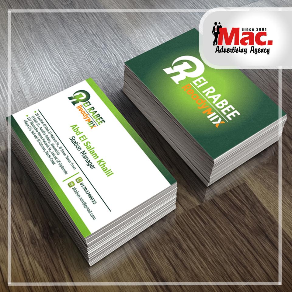 Business cards mac advertising agency alexandria egypt business cards colourmoves