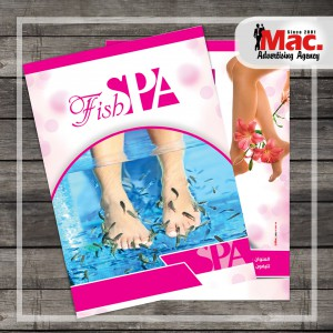 Fish spa flyer